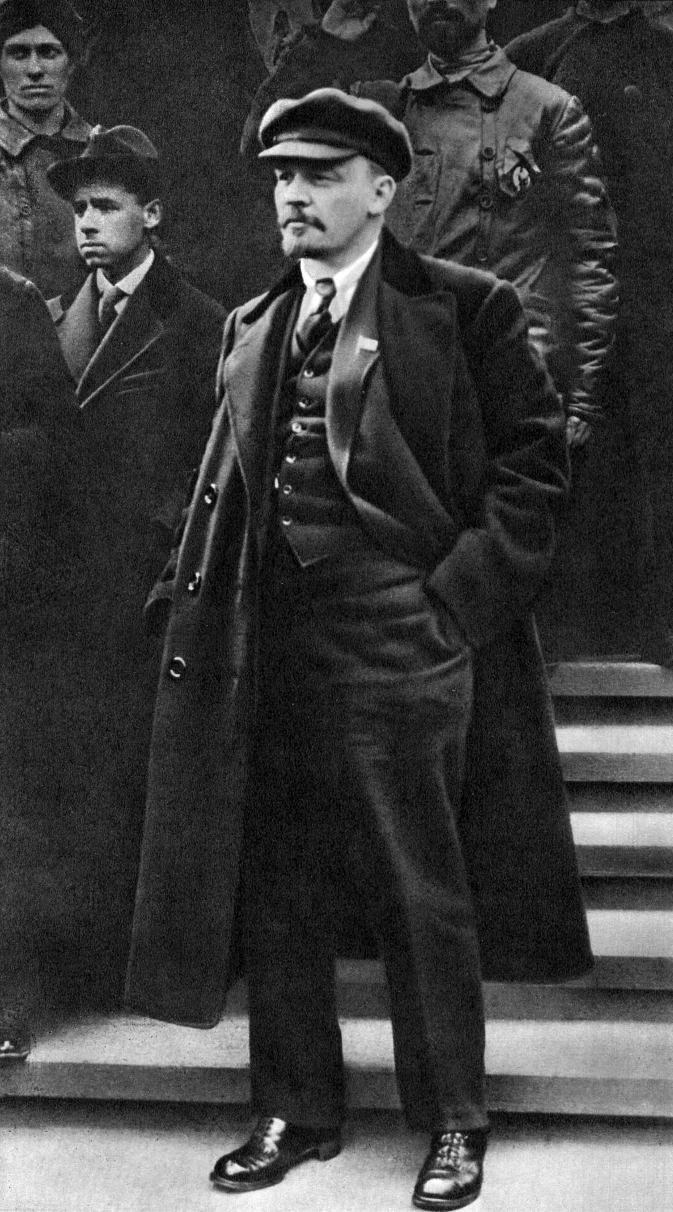 Время – начинаю про Ленина рассказ.